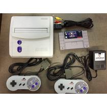 Console Super Nintendo 2 Cont E Fita Mortal Kombat 3 Ultimat