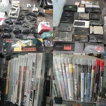 Lote Video Game Coleção Nintendo Sega Game Boy Xbox Jogos