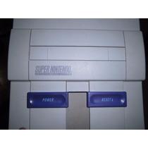 Video Game Super Nes , C/1 Controle E 1 Jogo . Frete Grátis