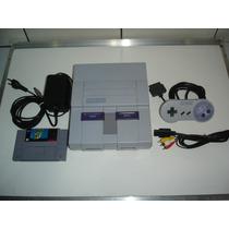 Snes Super Nintendo Alta Qualidade + Mario World S/caixa