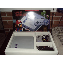 Super Nintendo Baby C/ Saida Av + Caixa + Fita Mario World