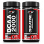 Bcaa 500mg 120 Cáps + Creatina 500mg 120 Cáps - Ftw