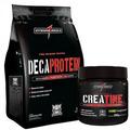 Frete Grátis Deca Protein - Choc + Creatine Creap - Darkness