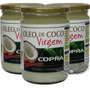 Kit 3 Un - Óleo De Coco Virgem 500ml Copra (cozinhar)