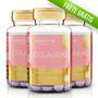 3 Potes De Colágeno Hidrolizado + Vitamina C 60caps 1g Cada