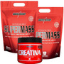 Combo - 2 Super Mass 6kg + Creatina - Integral Médica