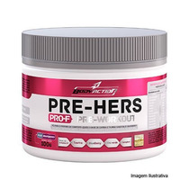 Pre-hers Pro-f Pre-workout - Fantasy Berry 100g - Body Actio