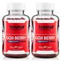 Goji Berry Fortvitta - 2 Potes De Com 60 Caps De 1000mg Cada