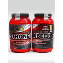 Whey Protein Strong Beef Compre 1 Pote Ganhe Outro Pote