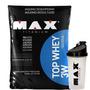 Top Whey 3w 1.800g + Shaker - Max Titanium - Vários Sabores