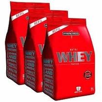3x Refil Nutri Whey Protein - Napolitano - Integralmedica