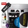 Combo Waxy Maize Bald -top Whey- Bcaa 450cps -multimax 90cps