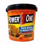Kit 4kg Pasta De Amendoim Torrada Power One 1kg ( Zero Açuca