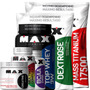 Super Mega Kit Hipertrofia Muscular - Max Titanium