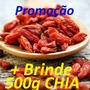 Goji Berry 1kg Fruto Desidratado + Castanha Do Pará 1kg