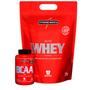 Kit Suplementos Whey Proten - Nutri Whey 1,8kg + Bcaa