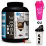 Whey Mix Bolic (2,722kg) + Coqueteleira-bauniha Frete Gratis
