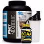 Whey Mix Bolic 2,722kg-sportsnutrition+bcaa Com Ribose 120cp