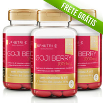Goji Berry Up Nutri 3 Potes De C/ 60 Caps De 1000mg