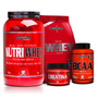 Kit 2x Whey + Bcaa + Creatina - Integralmédica - Morango