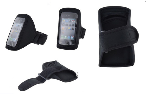 Suporte Braço Capa Iphone 4 Motorola Nokia Lg Celular Armban