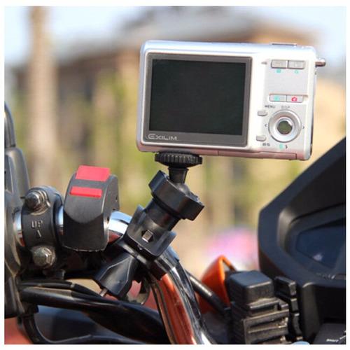 Suporte Guidom Moto Bicicleta Camera , Filmadora Articulado