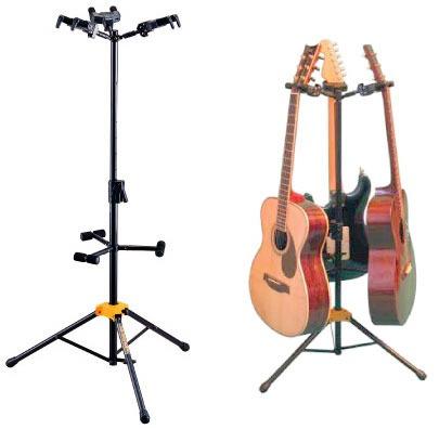 Suporte Triplo Hercules Gs432b Violão, Guitarra, Baixo, Etc