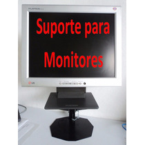 Base De Mesa Para Monitores Led E Lcd C/ Regulagem De Altura