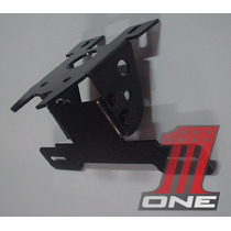 Suporte De Placa Hornet 2013 Eliminador Regulavel Articulado