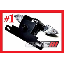 Eliminador Suporte Placa Com Luz E Seta Yamaha 250 Lander X