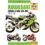 Manual De Serviço Kawasaki Zx 600 - 95-2002 Em Inglês