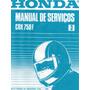 Manual Completo De Serviço Honda Cbx 750 F 1990