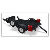 Projeto P/ Fabricação De Reboques Tipo Carretinha P/ 3 Motos