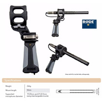 Suporte P/ Mic Rode Pg2 Pg-2 Shock Pistol Grip Ntg 1 2 3
