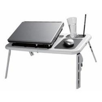 Mesa Para Notebook Dobrável Regulável 2 Cooler Usb