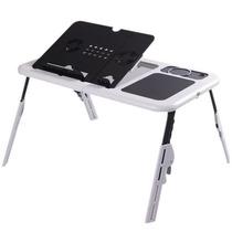 Mesa Notebook Com Cooler Suporte Base Porta Copo Mouse