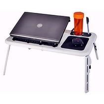 Mesa Portátil Notebook Cooler Hub E-table Refrigeracao