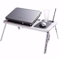 Mesa Notebook Table Portátil Dobrável Regulável Cooler Cp74