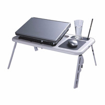 Mesa Dobrável Para Notebook Laptop E-table Cooler Regulável