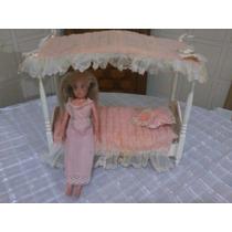 Cama Da Susi Acompanha Boneca Susi C/roupinha De Dormir