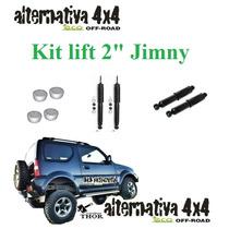Kit Suspenssão Lift 2 Suzuki Jeep Jimny-calço E Amortecedor