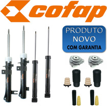 Kit 4 Amortecedor Fiesta 2002 Ate 2013 Cofap Novo +kit +cox