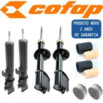 Kit 4 Amortecedor Uno Premio Elba Cofap + Kit + Coxim