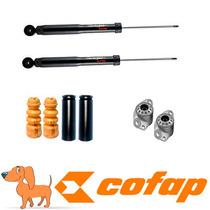 Kit 2 Amortecedores Traseiros Polo E Fox 2002 + Kit + Coxim