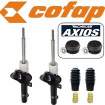 2 Amortecedor Dianteiro Courrier Cofap Turbogas +coxim Axios
