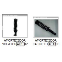 1629722 Kit Amortecedor Cabine Diant /tras Volvo Fh