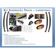 Kit Suspensão Carreta Reboque 2 Eixos Truck (1200 Kg)