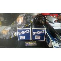 4 Amortecedores + Kit Batentes Gol Voyage Quadrado Nakata