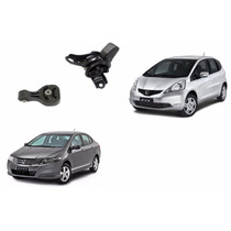 Kit Coxim Motor E Cambio Honda City E New Fit ( Automatico )