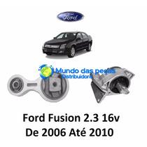 Coxim Motor + Calco Cambio Ford Fusion 2.3 16v 2006 Ate 2009